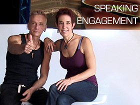 Joschi Schwarz & Monika Werner - founders of Bold & Naked Yoga in Chelsea, New York City are inspirational and motivational speakers who will engage your audience enthusiastically