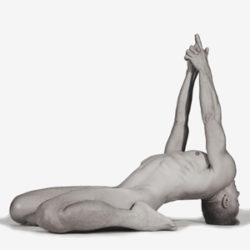 Bold Naked Yoga Founder Joschi Schwarz - Hero Pose